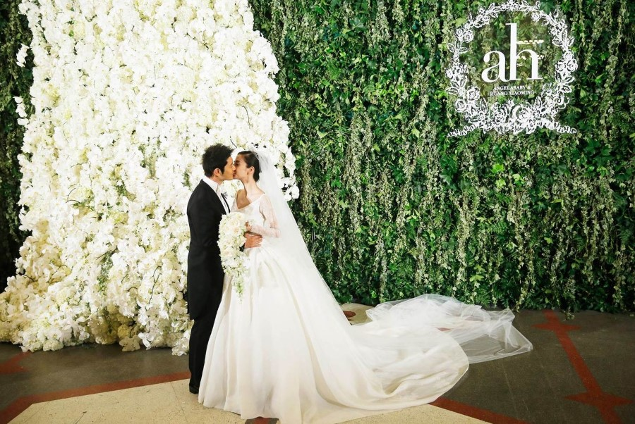Huang Xiaoming and Angelababy wedding