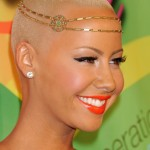 Amber Rose after nose job