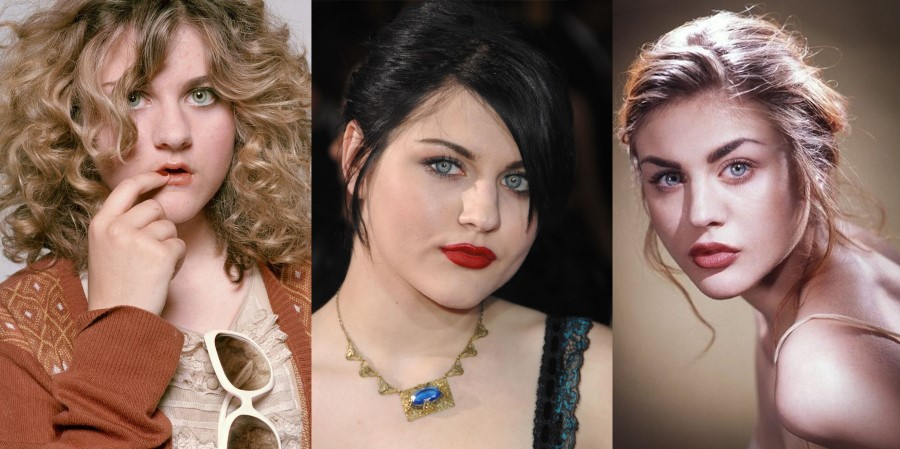 Frances Bean Cobain before and after plastic surgery