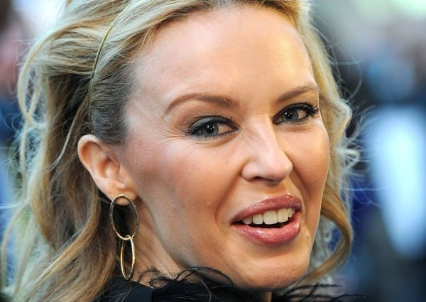 Kylie Minogue after plastic surgery