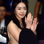 Seo Woo after eyelid surgery
