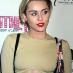 Miley Cyrus after plastic surgery