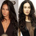 Megan Fox before and after breast augmentation