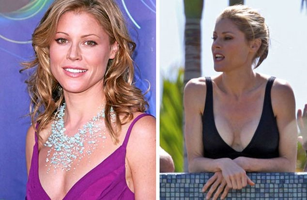 Julie Bowen before and after breast augmentation