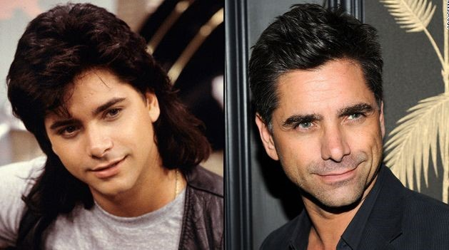 John Stamos before and after plastic surgery