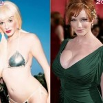 Christina Rene Hendricks before and after plastic surgery 02