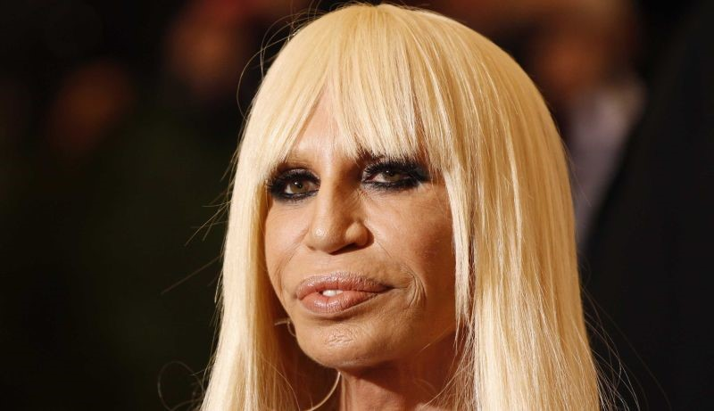 Donatella Versace Too Much Plastic Surgery Make A Disaster