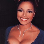 Janet Jackson after breast augmentation plastic surgery