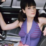 Zooey Deschanel before plastic surgery and breast augmentation