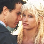 Daryl Hannah before plastic surgery with Tom Hanks