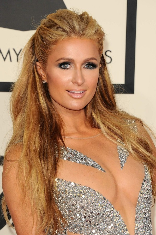 Paris Hilton before breast augmentation