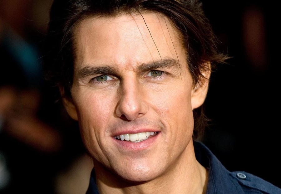 Tom Cruise after plastic surgery