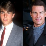 Tom Cruise then and now