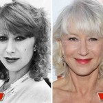 Helen Mirren then and now