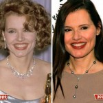 Geena Davis before and after plastic surgery (1)