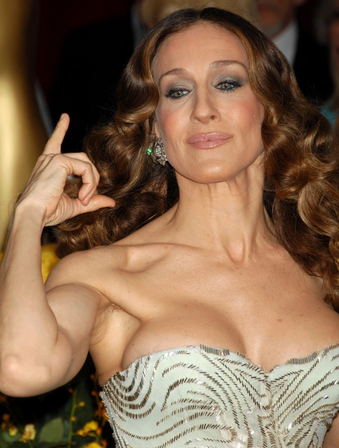 Sarah Jessica Parker after breast augmentation