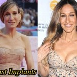 Sarah Jessica Parker before and after breast augmentation 2