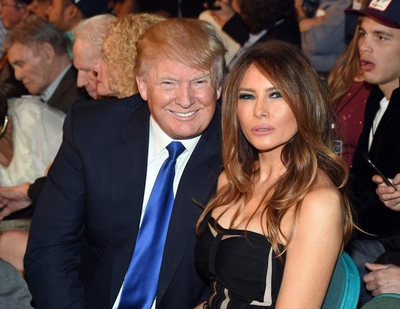 Donald and Melania plastic surgery