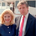 Donald and Ivana Trump before plastic surgery (9)