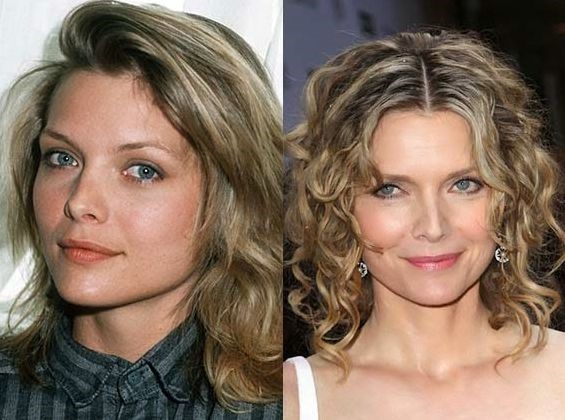 Michelle Pfeiffer Nose Job Before and After - Plastic
