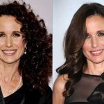 Andie Macdowell before and after plastic surgery 20