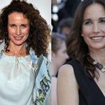 Andie Macdowell before and after plastic surgery 26