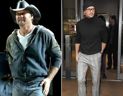 Tim Mcgraw before and after plastic surgery