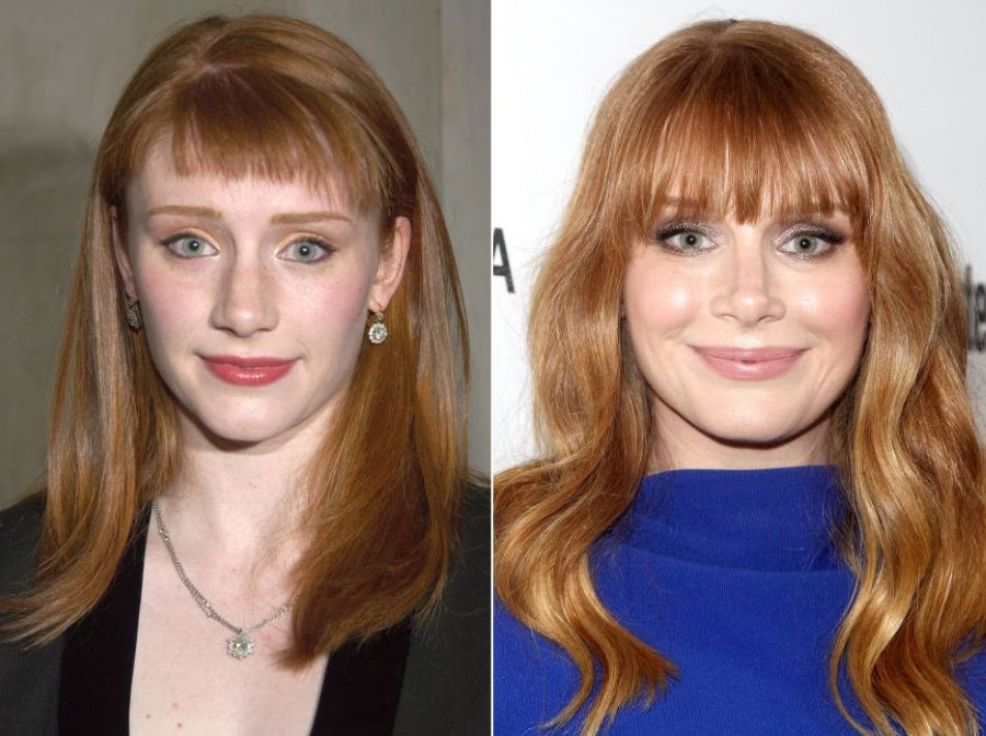 Bryce Dallas Howard before and after plastic surgery