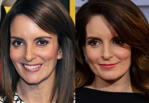 Tina Fey before and after plastic surgery