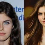 Alexandra Daddario before and after plastic surgery (1)