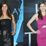 Alexandra Daddario before and after plastic surgery (12)