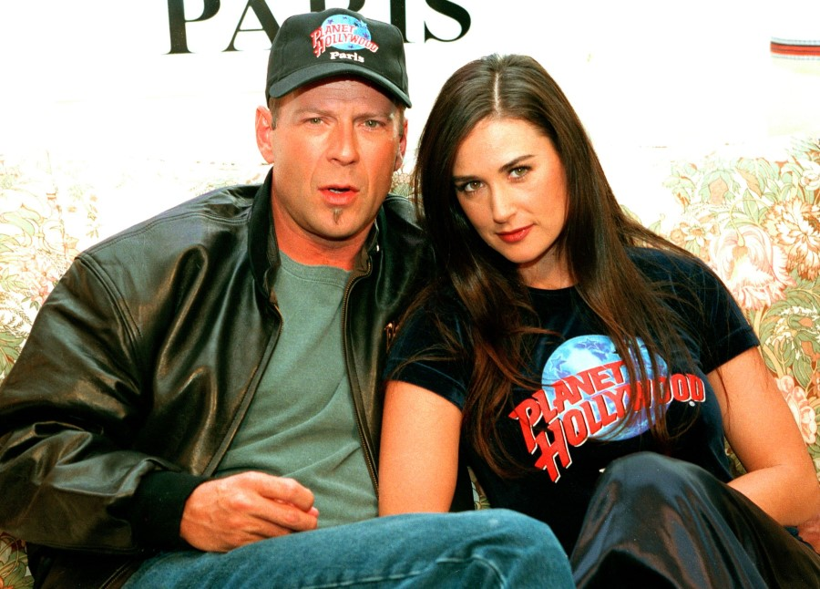 Bruce Willis plastic surgery (30) with Demi Moore