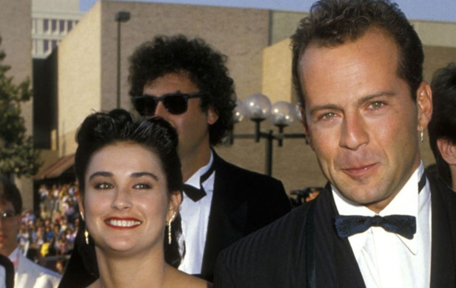 Bruce Willis plastic surgery (7) with Demi Moore