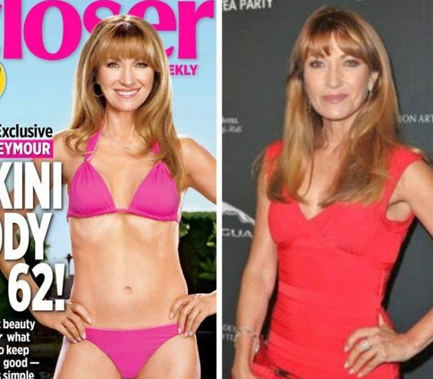 Jane Seymour before and after plastic surgery