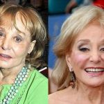 Barbara Walters before and after plastic surgery (30)