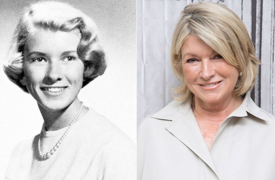 Martha Stewart before and after plastic surgery