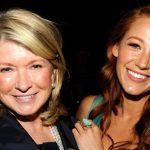 Martha Stewart plastic surgery (28) with Blake Lively