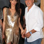Amal Clooney plastic surgery (11) with George Clooney