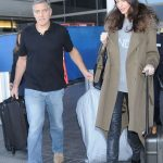 Amal Clooney plastic surgery (14) with George Clooney