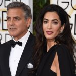 Amal Clooney plastic surgery (16) with George Clooney
