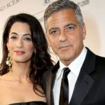 Amal Clooney plastic surgery (18) with George Clooney