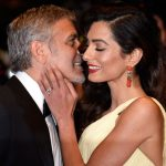 Amal Clooney plastic surgery (2) with George Clooney