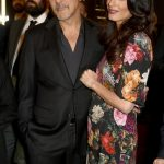 Amal Clooney plastic surgery (3) with George Clooney