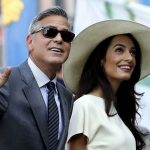 Amal Clooney plastic surgery (8) with George Clooney