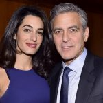 George Clooney plastic surgery (9) with Amal Clooney
