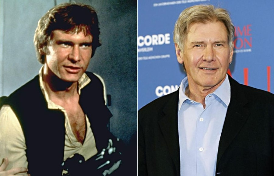 Harrison Ford before and after plastic surgery