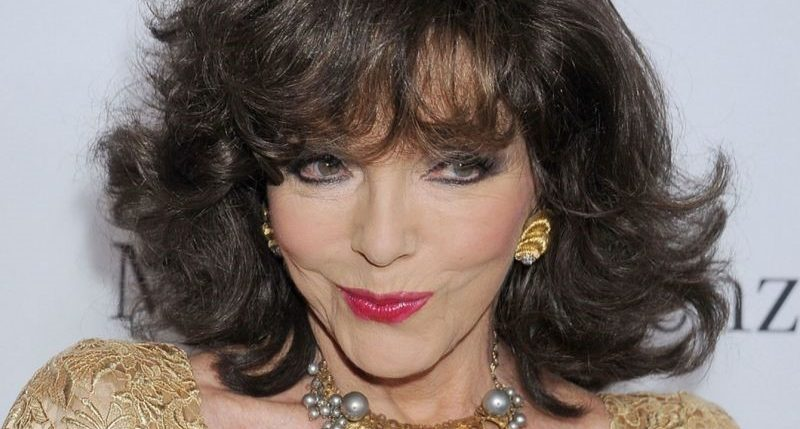Joan Collins plastic surgery featured