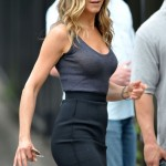 Jennifer Aniston after breast augmentation