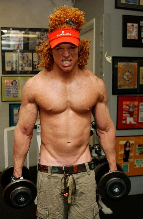 Carrot Top is ripped | Okay... REALLY REALLY Get My Sh!t ... |Carrot Top 2015