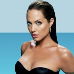 Angelina Jolie after breast augmentation 01